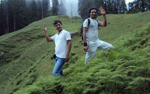 Inder Singh and Gulab Singh Near to bagsaid Valley Thunag Himachal India