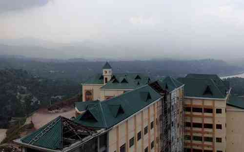 Jawaharlal Nehru Government Engineering College,Sundernagar View from Top