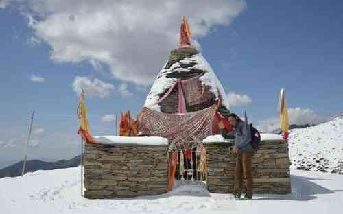 Nag Temple at Supehani-dhar top
