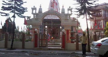 Shikari Devi Temple at Naulakha. Near Sundar Nagar