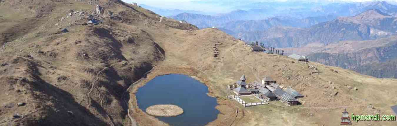 Parashar Top View of Lake - Mandi District Himachal Pradesh